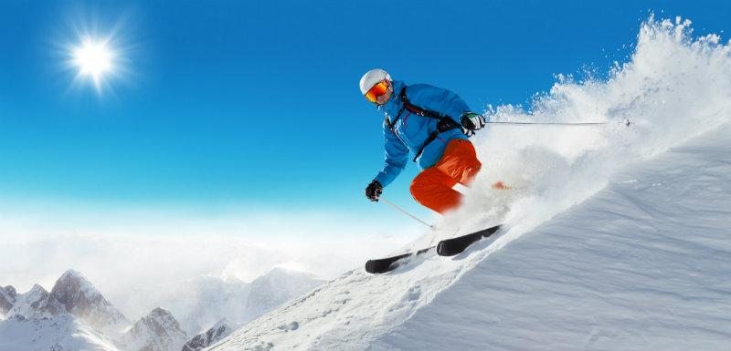 Attention à ne pas se brûler sur les pistes de ski !